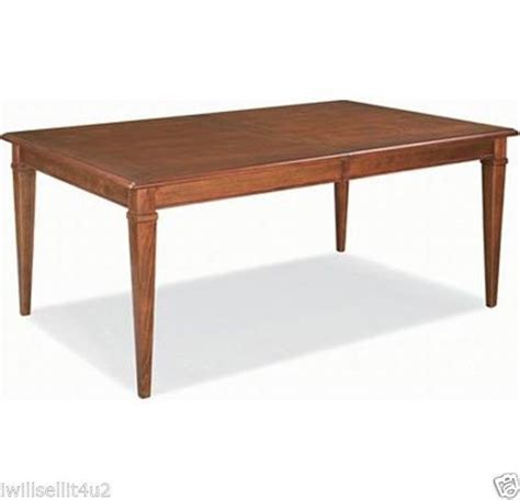 thomasville bridges 2 0 rectangular dining table 40421 752
