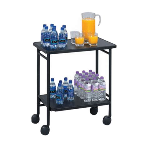 Office Cart by Folding Office Beverage Cart