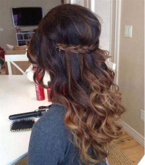 ombre prom hair 30 brown ombre hair ideas hairstyles update