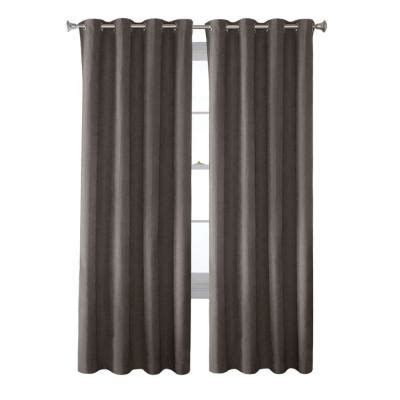 grey faux suede curtains solaris grey faux suede grommet curtain 1 panel 1627812