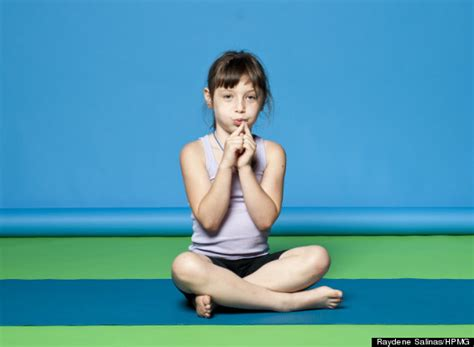 very young children girls kids yoga poses are just as effective as the grown up