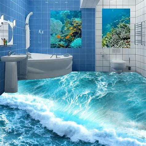 Aliexpress.com : Buy Custom Floor Mural Ocean Seawater