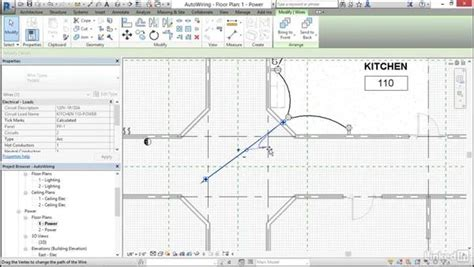 tutorial revit electrical electrical generate automatic wire layouts