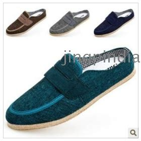 heelless slipper buy baotou slippers cloth shoes heelless tide s shoes