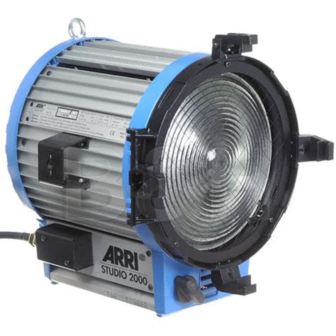 arri studio used arri studio fresnel 2k stand 120 240v 532200 b h