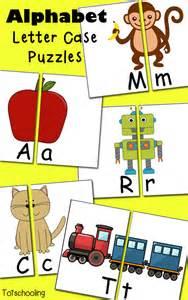 free alphabet letter case puzzles letter case and