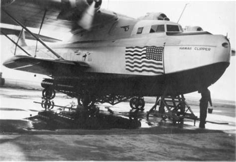 running boat engine out of water flying the flag the hawaii clipper out of the water and