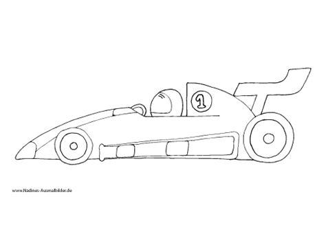Formel 1 Autos Malen by Rennauto Mit Rennfahrer Nadines Ausmalbilder