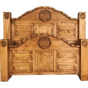Rustic King Bed Rodeo King Sized Rustic Bed Frame