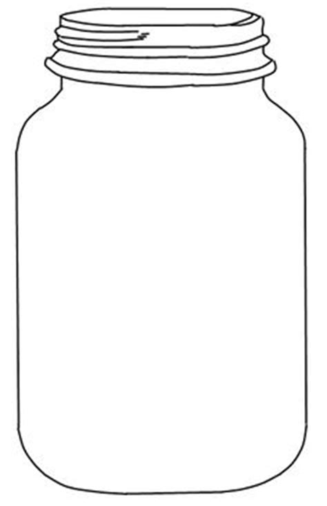 jar cut out template finally found it free jar template tag