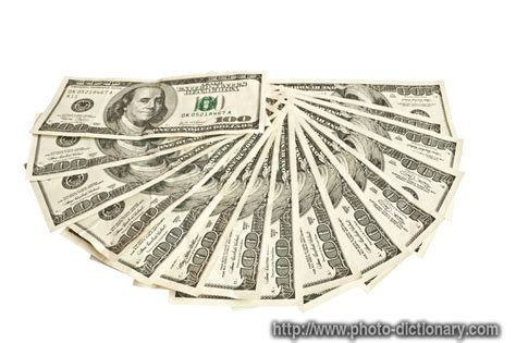 sheaf  money photopicture definition  photo