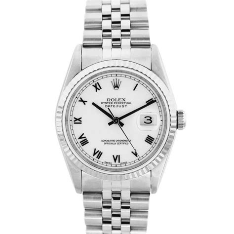 Rolex Oyster Datejust Rg Sepasang rolex oyster perpetual datejust 16234 stainless steel