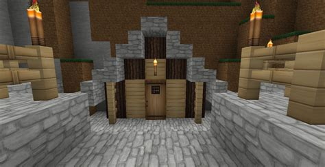 Minecraft Shed by Small Mansion With Shed Minecraft Project