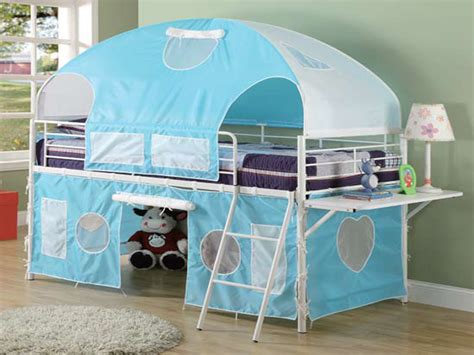 Canopy Bunk Bed Bunk Bed Tents For Boys Best Home Design 2018
