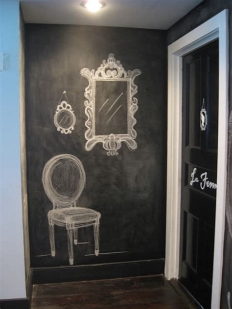 chalkboard paint wall chalkboard paint ideas when writing on the walls becomes