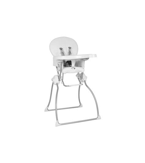 Joovy High Chair Reviews by Joovy Nook High Chair In White Leatherette
