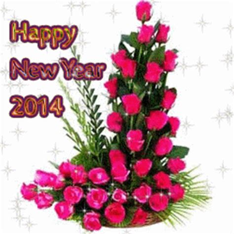 flower happy new year gif free greeting card wallpapers october 2013