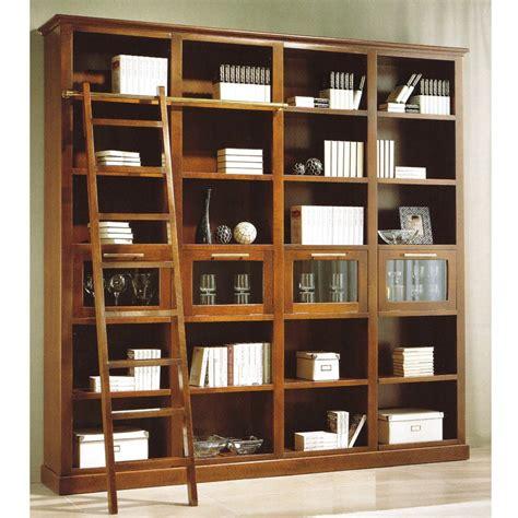 librerias de madera a medida librer 237 a con biblioteca en madera de cerezo