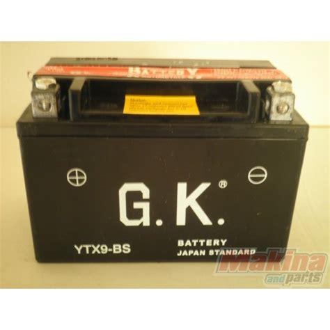 Suzuki Bandit 600 Battery Battery Ytx9 Bs Suzuki Gsr 600 Gsf 650 Gsxr 600 750