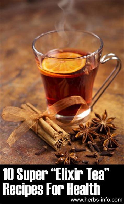 Detox Elixir Recipes by Teas Tea Recipes And Recipes For On