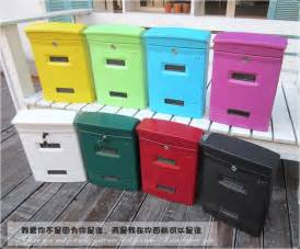 wall journal home delivery garden decor villa mailbox wall mounted storage box