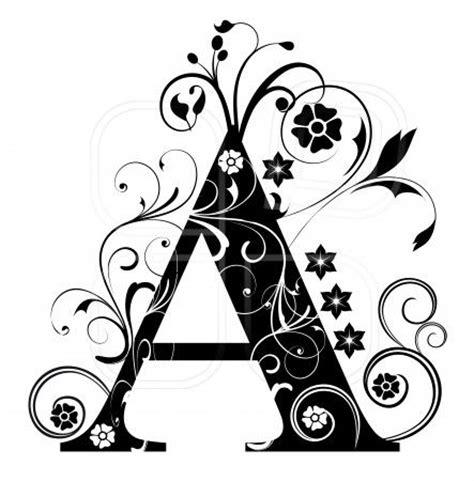 el magico prodigioso letras 8437605067 tipografia dise 241 o de la letra a con peque 241 os tallos flores las curvas internas y externas la