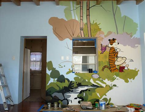 calvin and hobbes room 12 fan made tributes to birthday boy bill watterson the creator of calvin and hobbes