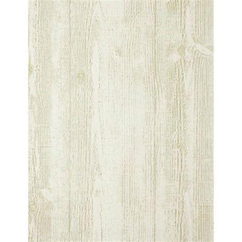 Modern Rustic Barnwood Wallpaper   Egg White