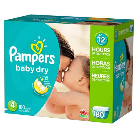 pampers baby dry size  diapers  ct bjs wholesale club