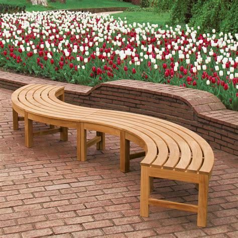 curved garden bench seat teak curved bench teak backless bench curved backless teak