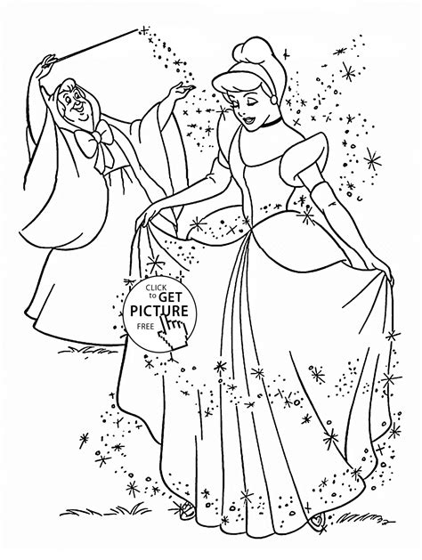 disney coloring pages you can color online princess cinderella coloring page for kids disney