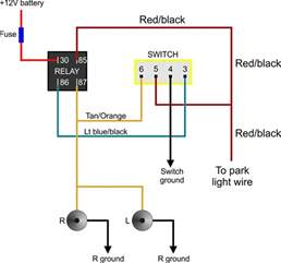 fog light wiring diagram with relay gooddy org