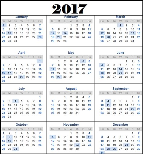 A Calendar For 2017 Odisha Government And Optional Calendar 2017