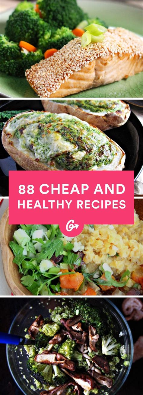 88 cheap and healthy lunch and dinner recipes healthy pockets and dinner