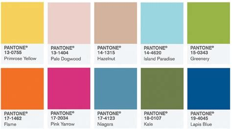 2017 popular colors 팬톤 pantone 이 선정한 2017 올해의 컬러 트렌드뉴스 트렌드와칭