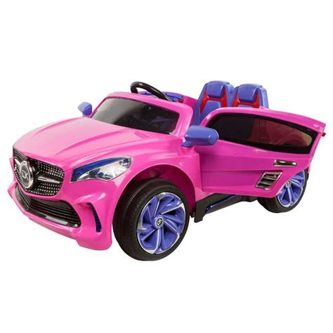 pink mercedes mercedes cla style electric ride on car pink