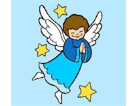 imagenes animadas de navidad angeles dibujos de 193 ngeles para colorear dibujos net