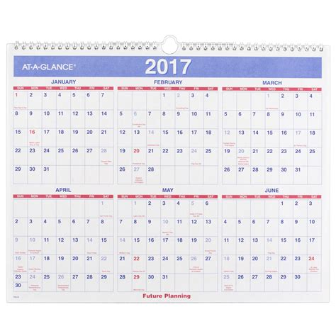 8 Great Wall Calendars by At A Glance Monthly Wall Calendar 2016 12