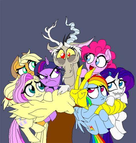 Ctm 050 China Pony Rainbow hug my pony friendship is magic your meme