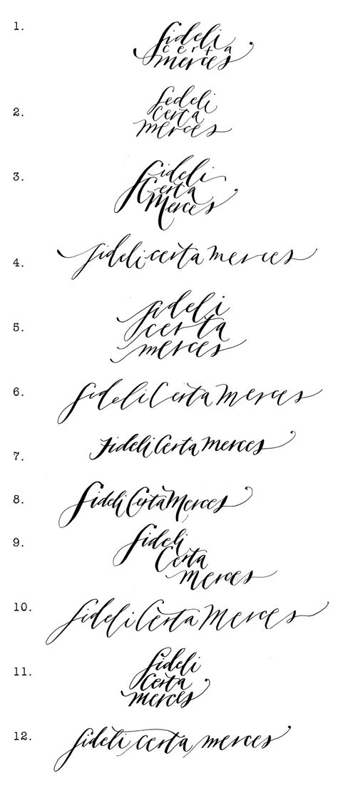 tattoo fonts handwriting part ii to the faithful reward is certain type