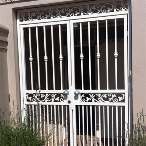 security gates and grills on house front doors johannesburg