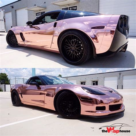 Rose Gold Chrome Corvette Z06 Yelp