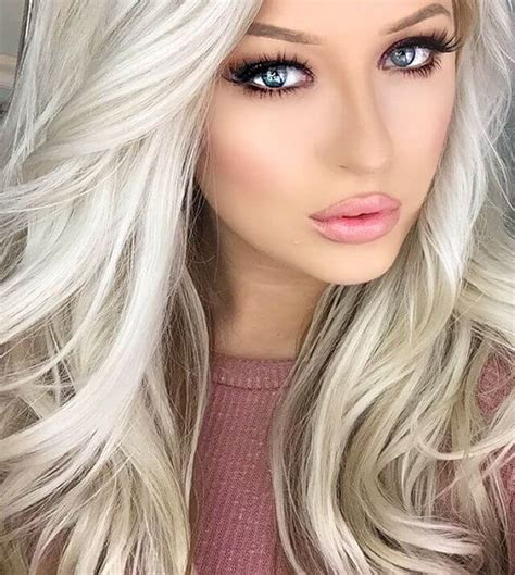 beautiful brunette hair with platinum highlights pictures hot trebd 2015 50 platinum blonde hairstyle ideas for a glamorous 2018