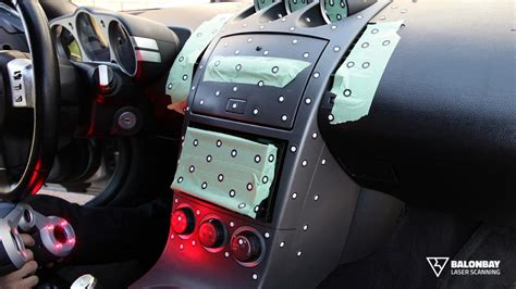 custom nissan 350z interior 3d laser scanning nissan 350z interior dashboard