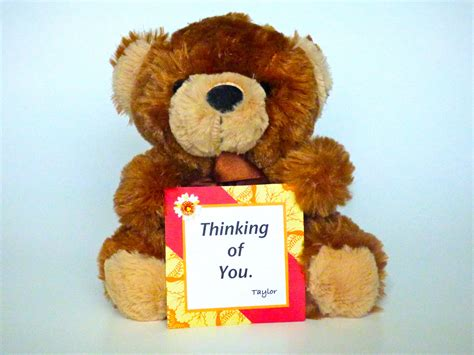 Bears Smile teddy thinking of you mail a smile today unique