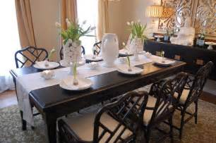 Setting A Dining Table Easter Table Setting Ideas Asian Dining Room Benjamin Grant Beige