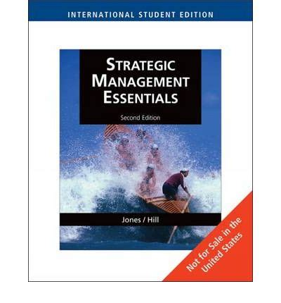 engine of impact essentials of strategic leadership in the nonprofit sector books strategic management essentials gareth r jones