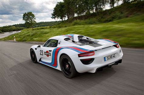 martini porsche 918 2013 porsche 918 martini photo gallery autoblog