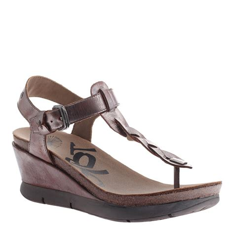 otbt wedge sandals otbt s sandals wedge graceville shoes pewter gold ebay