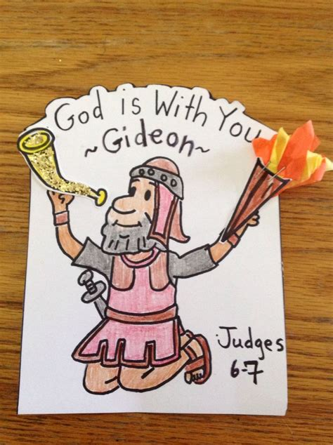 school lessons and crafts gideon craft this craft will help you prepare your sunday